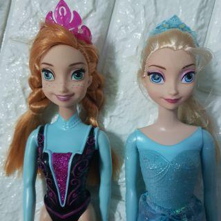 Set 2 búp bê Anna Elsa chính hãng