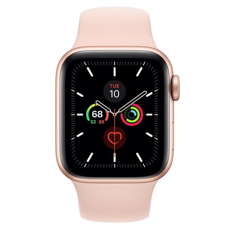 Đồng Hồ Thông Minh Apple Watch Series 5 GPS VN/A (Viền Nhôm & Dây Cao Su) - Hàng Chính Hãng