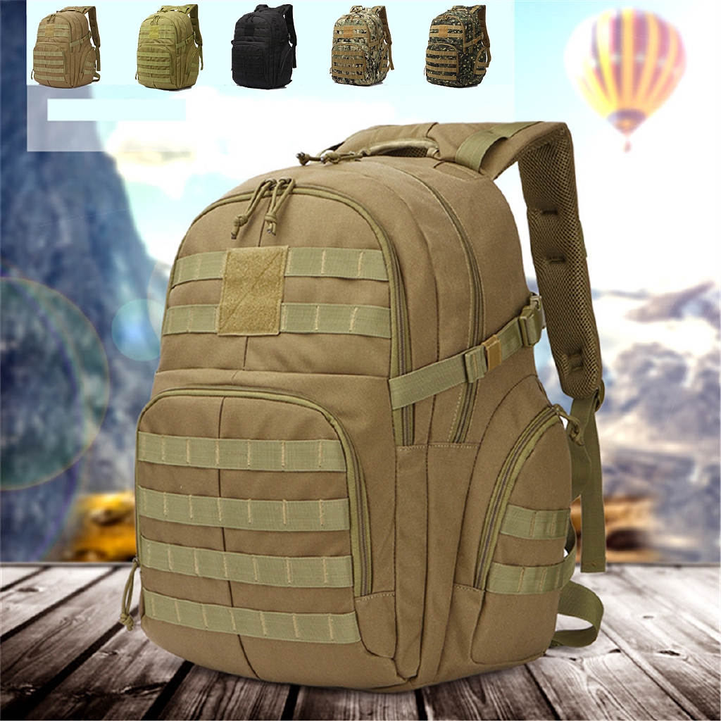 50L Outdoor Molle Assault Tactical  Rucksacks Backpack Camping Handbag