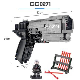 Bộ Đồ Chơi Lắp Ghép LEGO, Đồ Chơi Sưu Tập, Lắp Ráp Mô Hình Súng cc0271 BUBG 431 Chi Tiết
