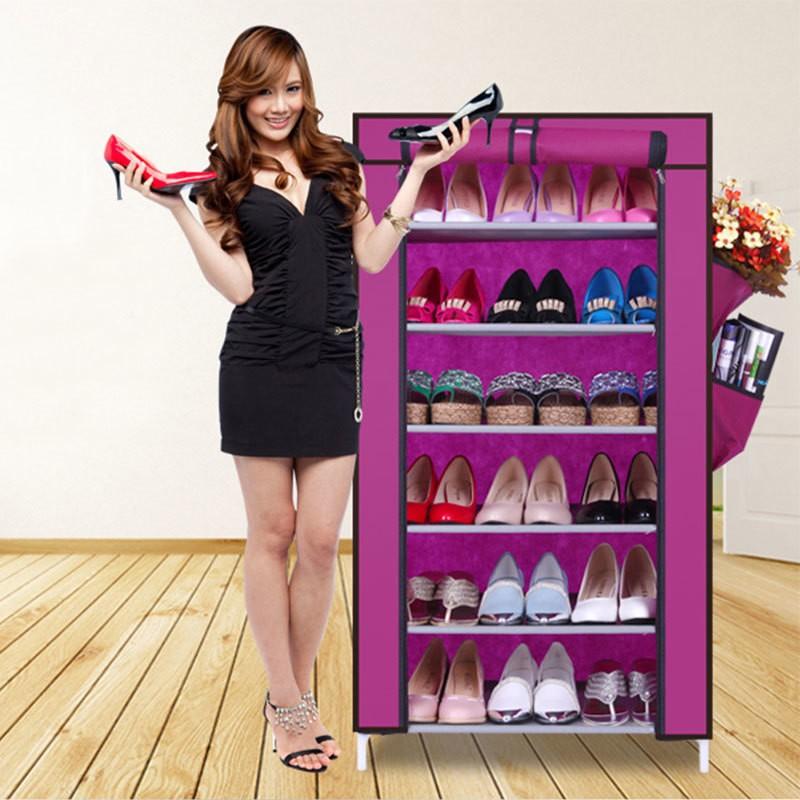 Tủ giày 7 tầng 6 ngăn đa năng Clever