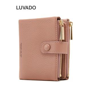 Ví nữ mini ngắn cute dễ thương FOREVER FOR YOU nhỏ gọn bỏ túi thời trang cao cấp LUVADO VD304 thumbnail