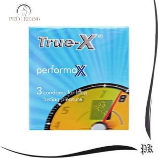 Bao cao su True-X performaX kéo dài thời gian(Hộp 3 thumbnail