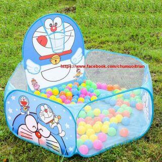 Lều bóng cho bé(tặng kèm túi 100 bóng)