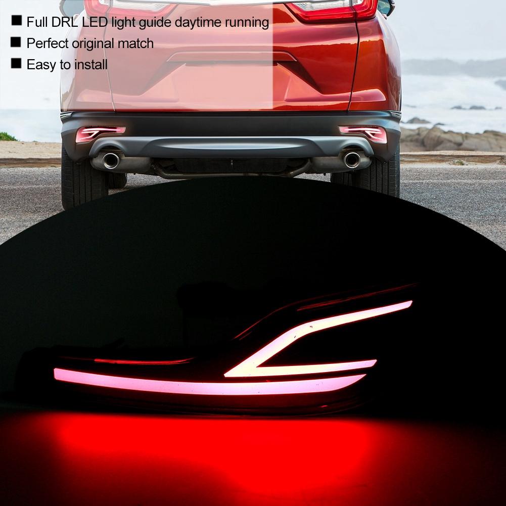 Set 2 đèn phản quang gắn đuôi xe ô tô Honda CRV 2017-2018