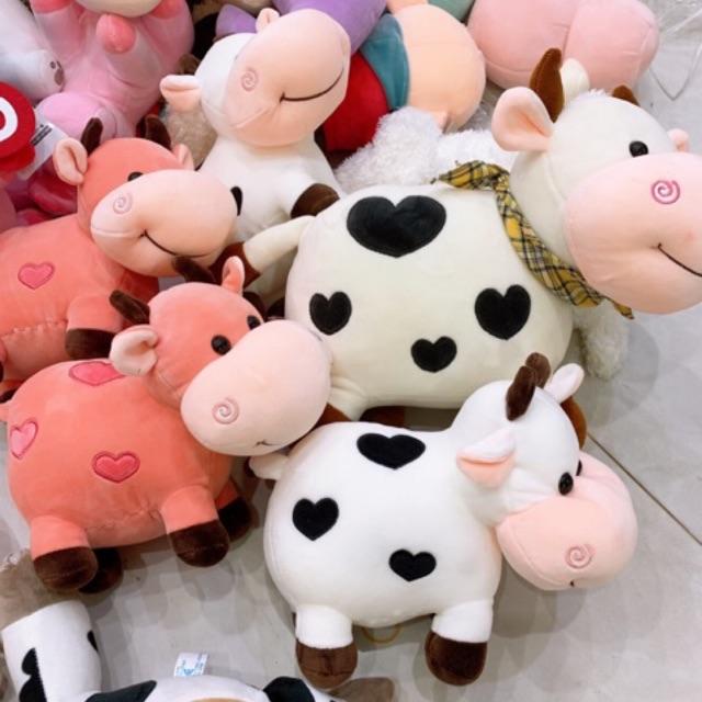 Gấu bông hình bò sữa [SIÊU KUTE] các cỡ
