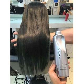 Hấp phủ lụa tơ tằm phục hồi tóc Fakeshu - Chính Hãng thumbnail