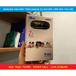 [Mã ELOCT10K giảm 10k]Webcam dạy và học trực tuyến online gắn trên màn hình PC Dahua Z2 giá rẻ nhất thị trường