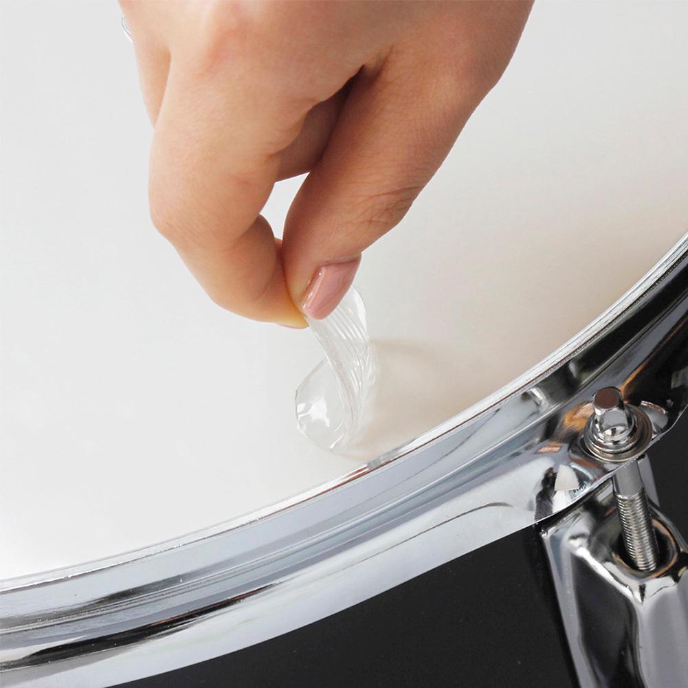Drum Damper Muffler Pad Snare Mute 6pcs/set Practical Durable Reusable Gel