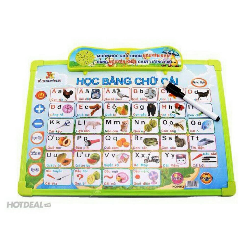 Bảng học chữ cái điện tử thông minh đa năng cho bé - 2786674 , 463939298 , 322_463939298 , 139000 , Bang-hoc-chu-cai-dien-tu-thong-minh-da-nang-cho-be-322_463939298 , shopee.vn , Bảng học chữ cái điện tử thông minh đa năng cho bé