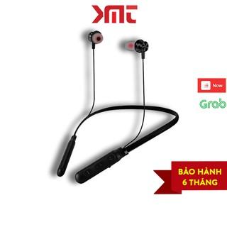 Tai nghe bluetooth 5.0 quàng cổ nhét tai không dây mini thể thao pin trâu chống nước KMT Store TNBT15