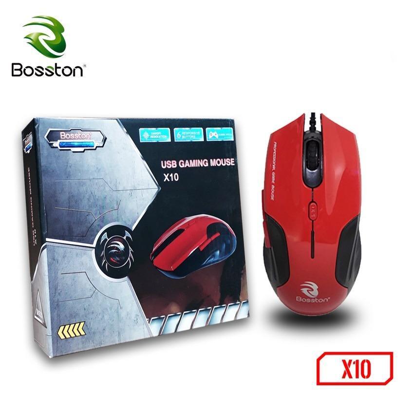 Chuột Chơi Game Có Dây Bosston X10 2200DPI 6 Phím- Hàng Chính Hãng - 2530255 , 1123116336 , 322_1123116336 , 89000 , Chuot-Choi-Game-Co-Day-Bosston-X10-2200DPI-6-Phim-Hang-Chinh-Hang-322_1123116336 , shopee.vn , Chuột Chơi Game Có Dây Bosston X10 2200DPI 6 Phím- Hàng Chính Hãng