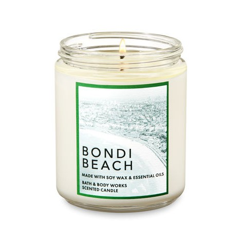 Nến thơm 1 tim Bondi beach - Bath & Body Works (198g)