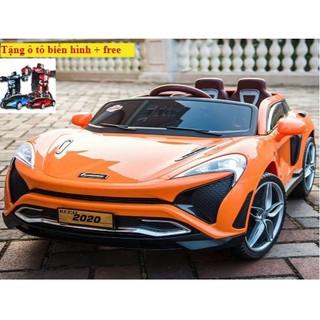 (M812) Xe ô tô điện trẻ em KuPai-2020 ( tặng ô tô biến hình + free )