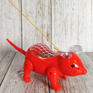Combo 5 chú lợn, 5 chú ngựa, 5 chú chuột phát nhạc và phát sáng Jika Store