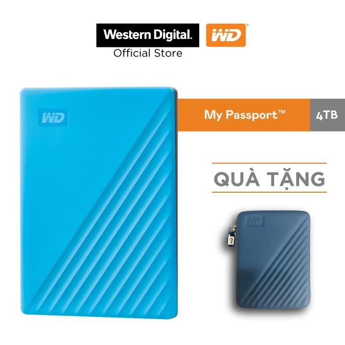 Ổ cứng WD My Passport 2.5 INCH( USB 3.2) 4TB Portable( X