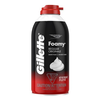 [ BEST SELLER ] Kem cạo rậu Gillette Foamy Regular Originale – Mỹ – 311g S024