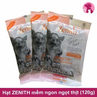 [Mã PETMS03 giảm 10% đơn 199K] [120g] (Rẻ Vô Địch) Thức ăn cho cún - Combo 3 gói HẠT MỀM ZENITH CHO CHÓ NHỎ 1