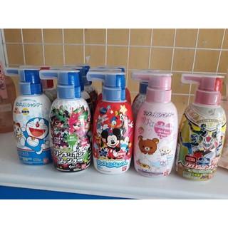 Sữa tắm gội BANDAI cho bé trên 1 tuổi