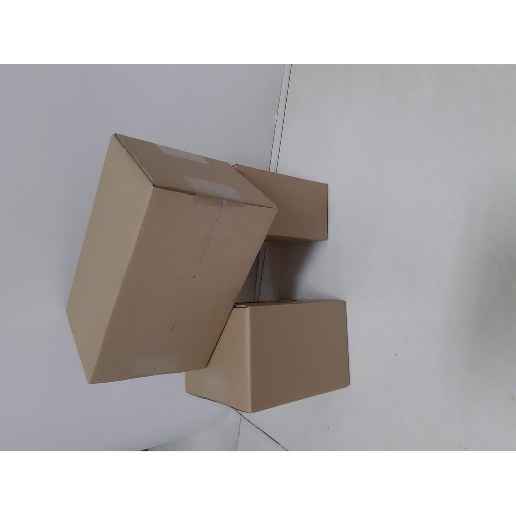 Hộp giấy carton GIÁ RẺ 15x7x22, số lượng 100 hộp