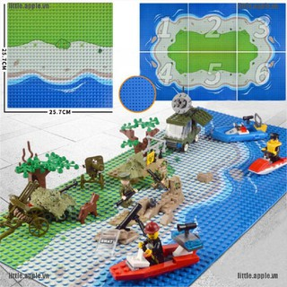 [Little] Plastic The island Crossroad Curve Meadow Road Plate Building Block Parts Bricks [VN]