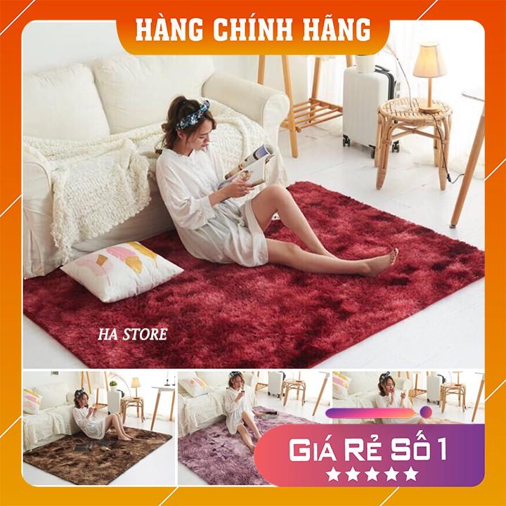 Thảm LOANG lông xù dài trải sàn cao cấp 1.6x2m GDTRAN05