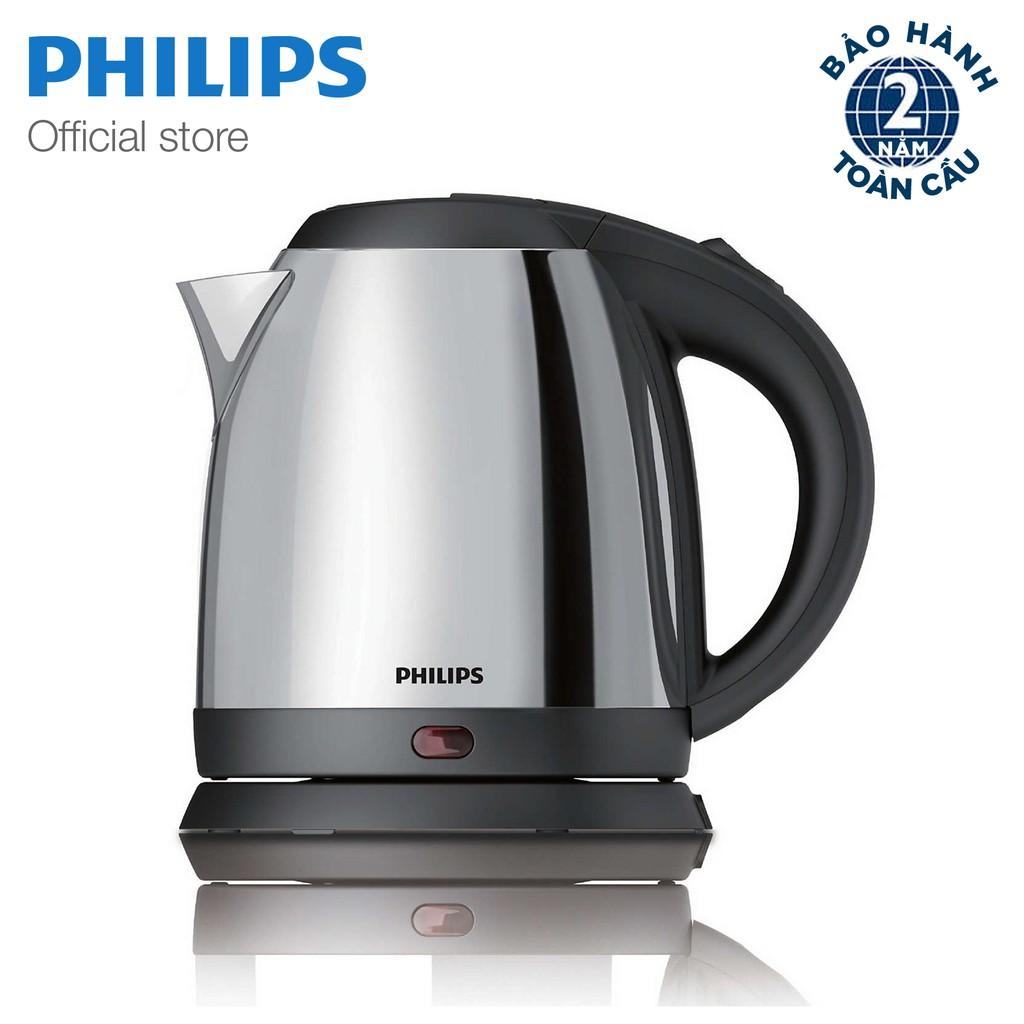 Bình đun Philips HD9303 1.2L (Xám bạc)