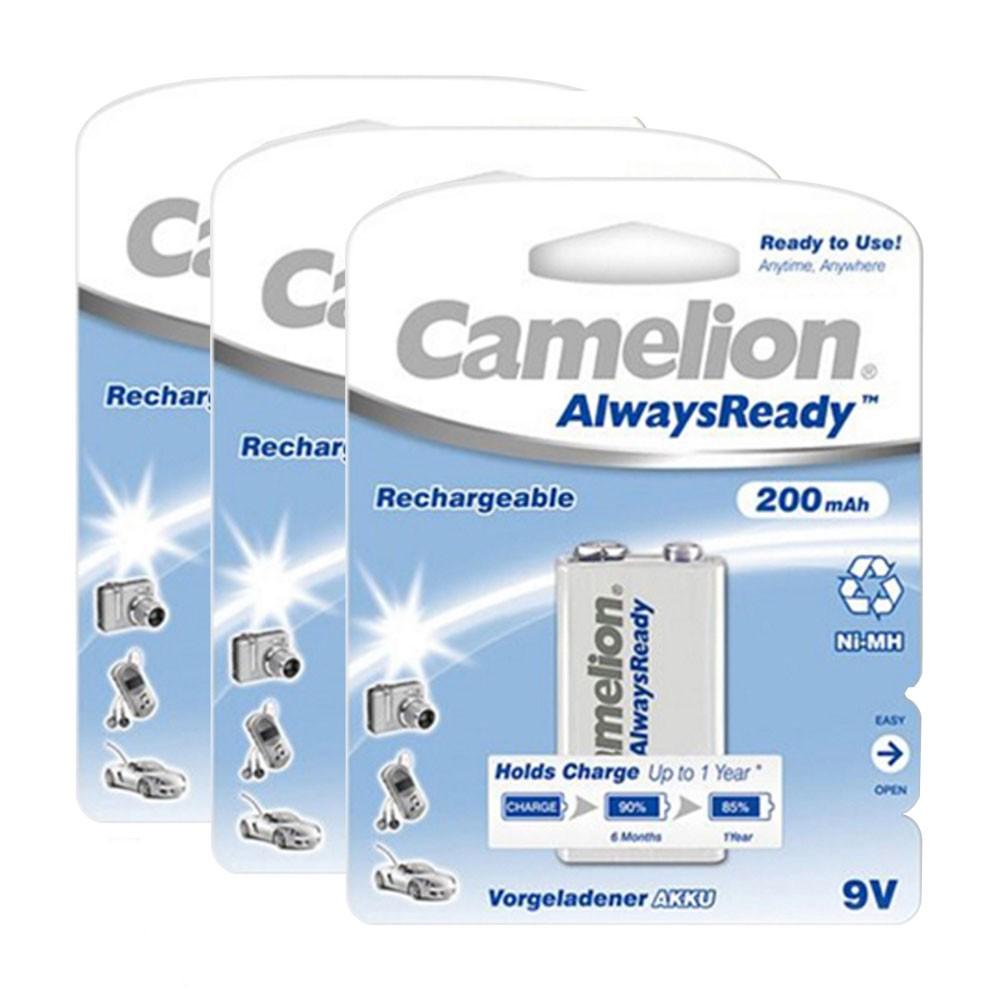 Bộ 3 pin sạc vuông Camelion AlwaysReady 9V - 2606129 , 117891347 , 322_117891347 , 255000 , Bo-3-pin-sac-vuong-Camelion-AlwaysReady-9V-322_117891347 , shopee.vn , Bộ 3 pin sạc vuông Camelion AlwaysReady 9V