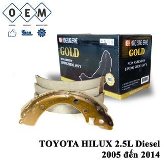 Bố thắng càng sau TOYOTA HILUX 2.5L Diesel 2005 đến 2014 thumbnail