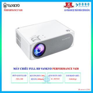 Máy chiếu Full HD 1080p VANKYO Performance V630 - Hàng chính hãng Vankyo, bảo hành 2 năm kể cả đèn hình. thumbnail