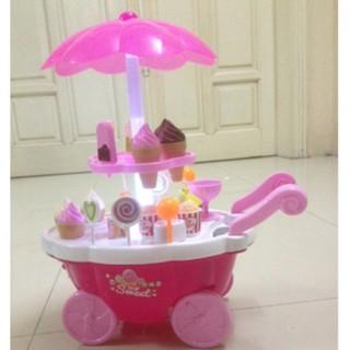 [HOT DEAL] đồ chơi cho bé – xe đẩy kem có nhạc có đèn SẢN PHẨM BÁN CHẠY
