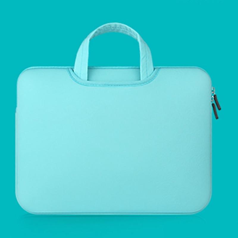 Túi đựng Laptop & Macbook 11 13 15 Inch màu trơn có dây kéo tiện lợi | SaleOff247
