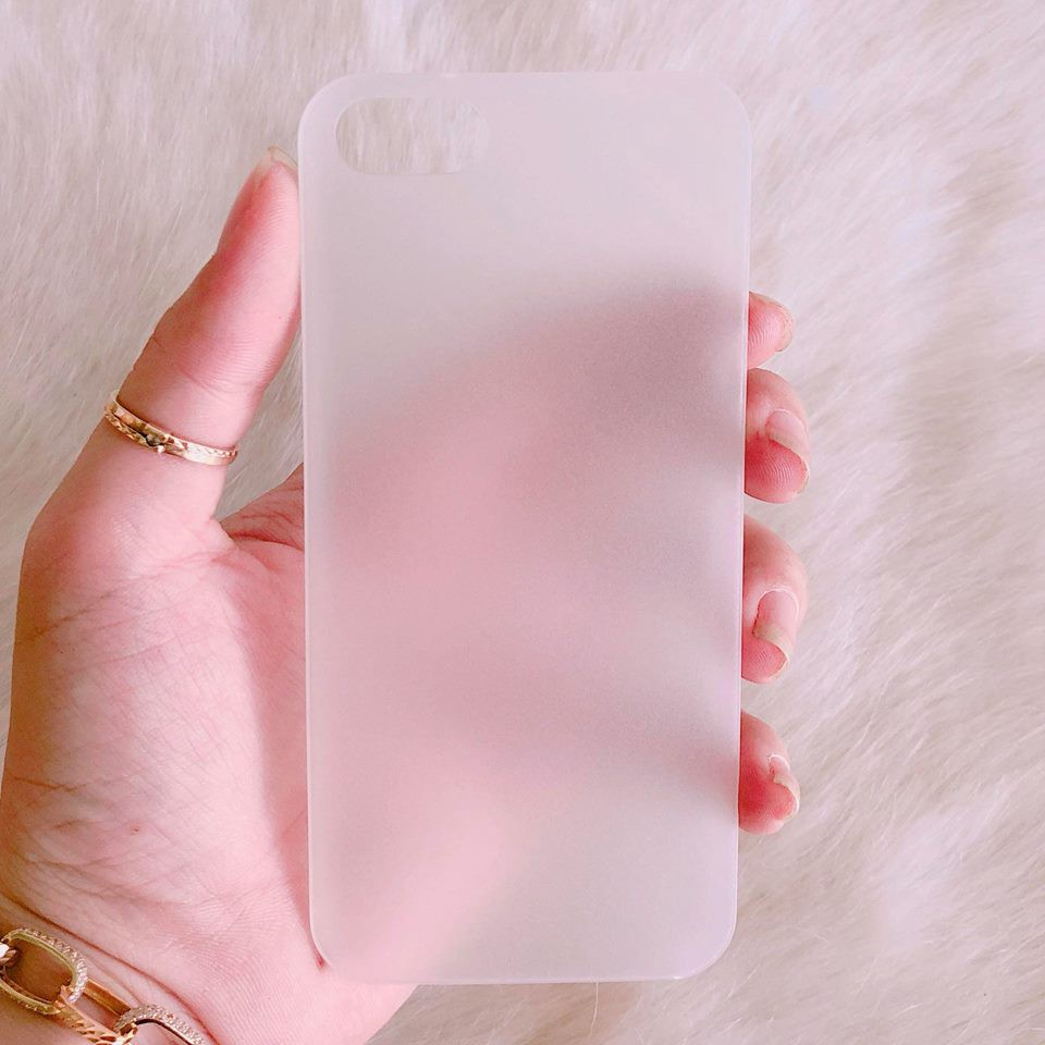 Ốp iPhone 5 / 5s / SE khói sương mờ