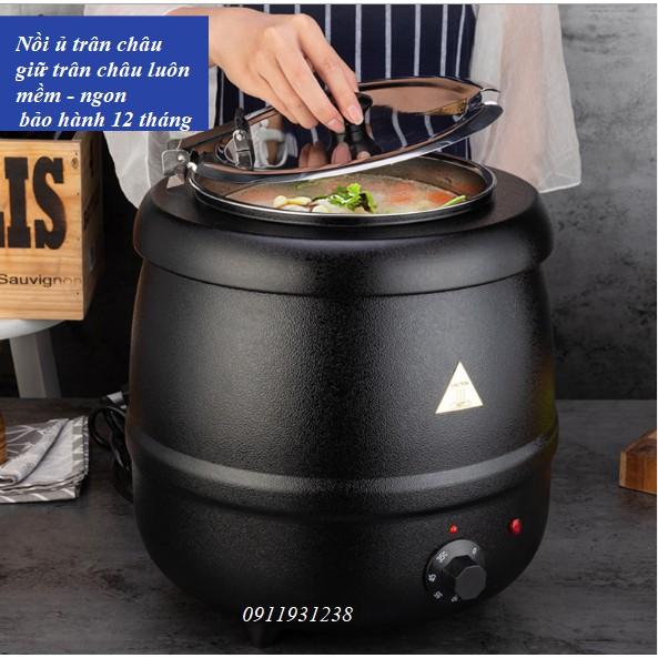 Nồi ủ trân châu - nồi nấu súp - nồi giữ nhiệt cho thức ăn chất liệu lõi inox ( vỏ gang - vỏ nhựa)