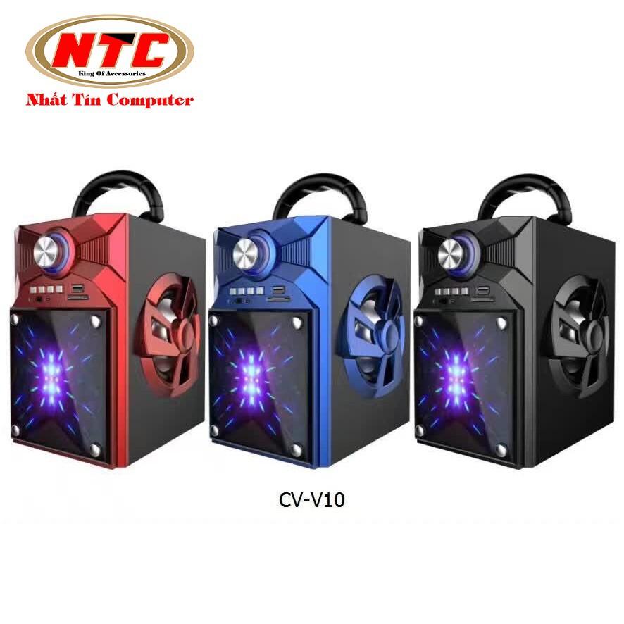 Loa bluetooth cao cấp Vision VSP CV-V10BT có đèn led - Hãng phân phối chính thức