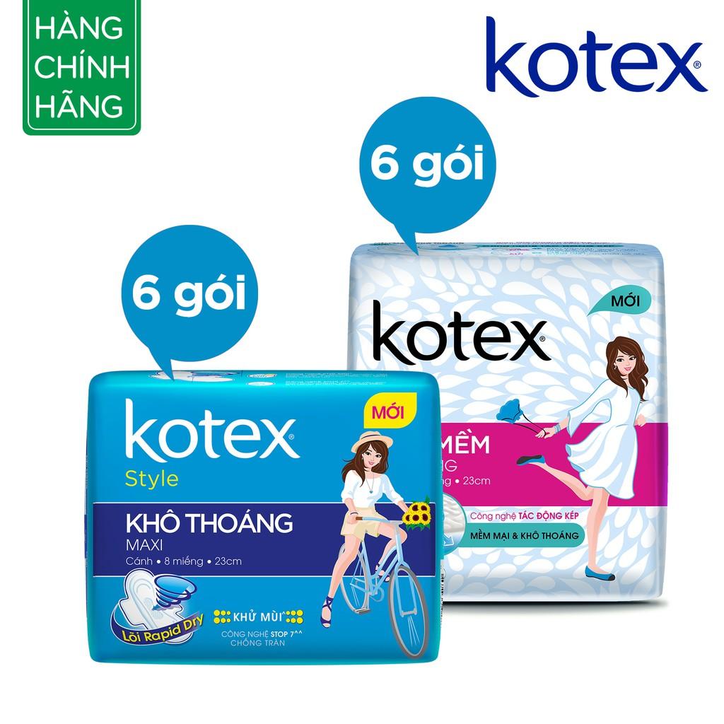 Bộ 12 gói Kotex (6xMaxi, 6xSiêu mềm mỏng) - 3482079 , 698946569 , 322_698946569 , 218400 , Bo-12-goi-Kotex-6xMaxi-6xSieu-mem-mong-322_698946569 , shopee.vn , Bộ 12 gói Kotex (6xMaxi, 6xSiêu mềm mỏng)