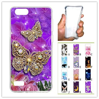 For OPPO A33/Neo 7 Butterfly Soft Silicon Case