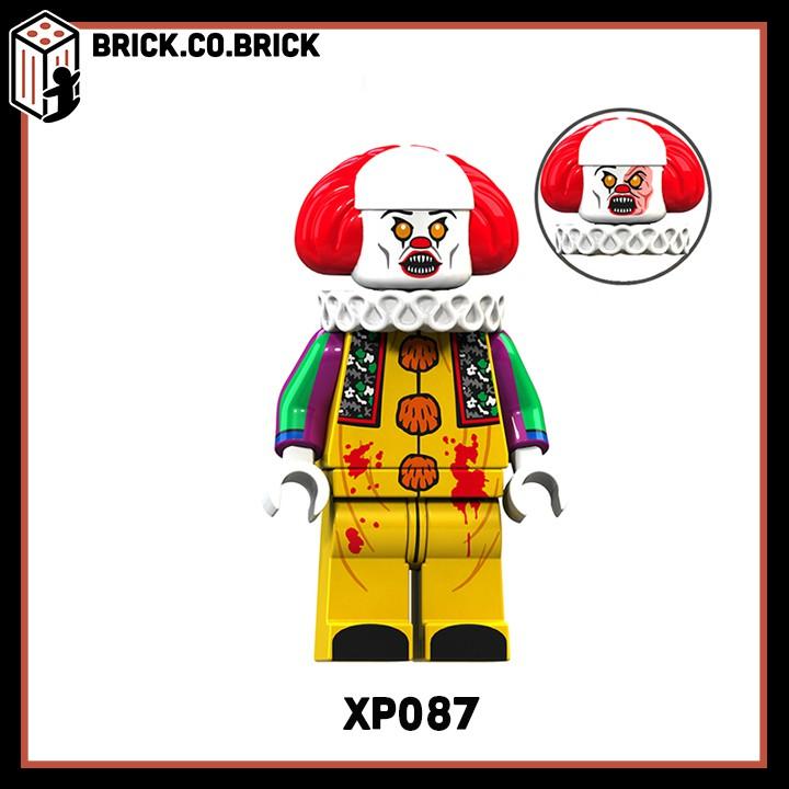 KT 1012 (CÓ SẴN) - Nhân vật chú hề trong phim IT - Đồ chơi lắp ráp minifigure non lego...