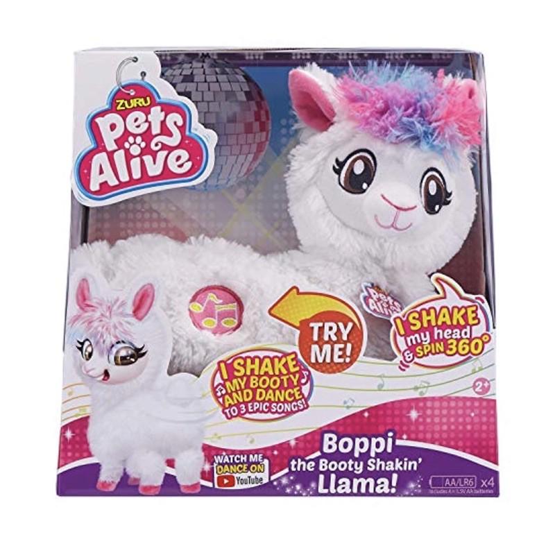 Đồ chơi Zuru Pets Alive Llama thú pin nhún nhảy