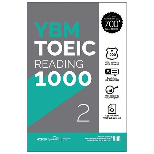 Sách - YBM Actual Toeic Tests RC 1000 - Vol 2 (229K)