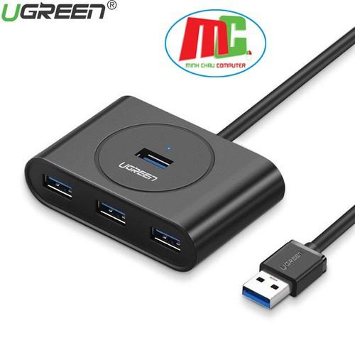Bảng giá Bộ Chia USB 4 Cổng 3.0 UGREEN 20291 Dây Dài 1m - Hàng Phong Vũ