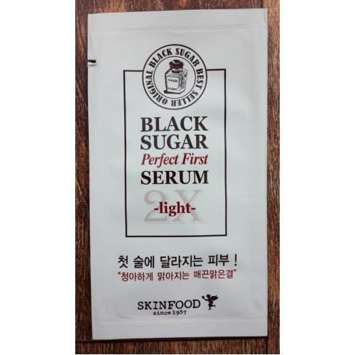Sample Tinh chất dưỡng đường đen skinfood serum light