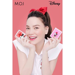 [ HÀNG CAO CẤP ] [Chính Hãng] Phấn Má Hồng Mickey MOI Glowing Cheeks Hồ Ngọc Hà Bản Đặc Biệt 2020 thumbnail
