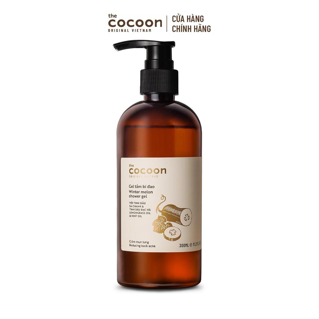 [Mã FMCG60 - 10% đơn 250K] Combo Gel tắm bí đao Cocoon 300ml + Cà phê Đăk Lăk làm sạch da chết Cocoon 200ml