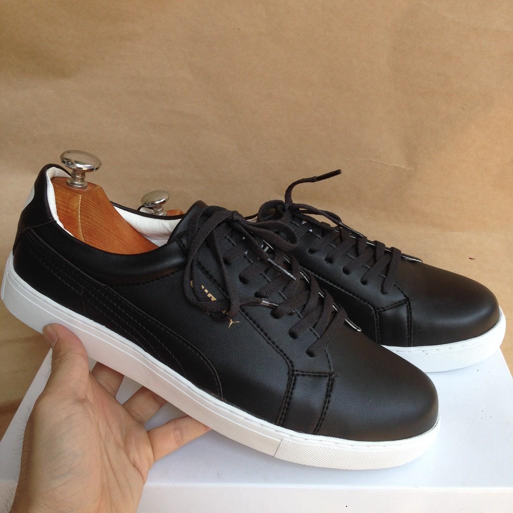 [CÒN 5 NGÀY][GIÁ TẠI XƯỞNG] Giày sneaker nữ màu đen cột dây