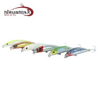 Hirushima - Mồi giả câu cá chẽm - Lipless Minnow 9x thumbnail