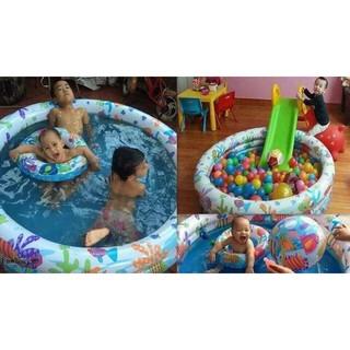 Bể bơi 3 chi tiêt cho bé