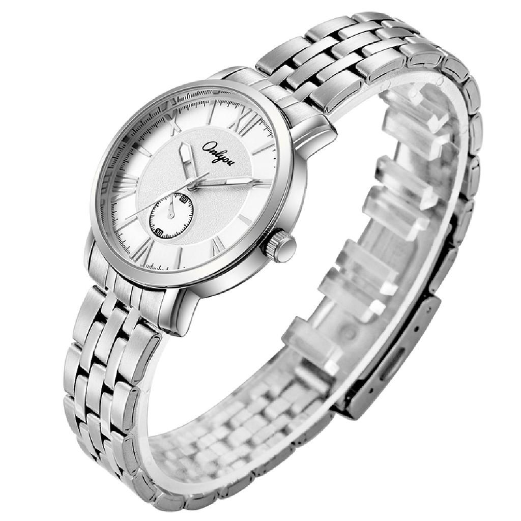 Đồng hồ Onlyou Nam 81031GA Dây thép không gỉ 41.5mm