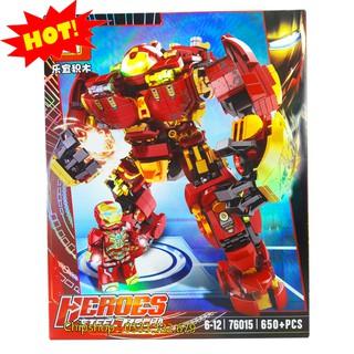 Lego Xếp Hình Ninjago Siêu Robot Chiến Đấu. Gồm 650 Chi Tiết. Lego Ninjago Lắp Ráp Đồ Chơi Cho Bé