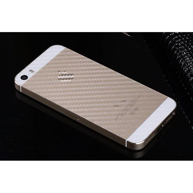Dán lưng iPhone 5 / 5S Carbon